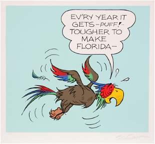 Al Capp, Florida, Screenprint