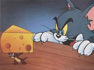 Hanna-Barbera, Tom and Jerry with Cheese, Poster