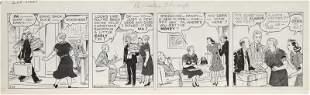 John Striebel, Dixie Dugan, Ink Drawing