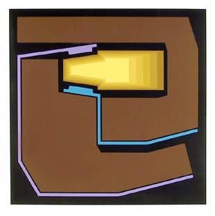 Yves Millecamps, Untitled I, Screenprint