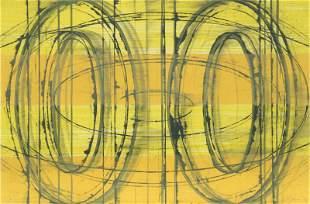 David Row, Jabberwock, Lithograph on thin wove paper