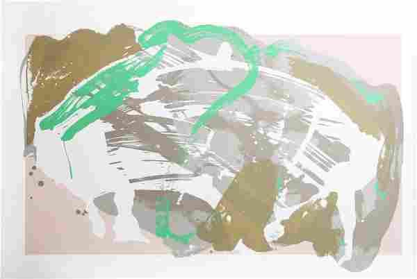 Darryl Hughto, Barn Boots, Screenprint