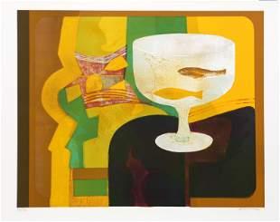 Andre Minaux, Goldfish, Lithograph