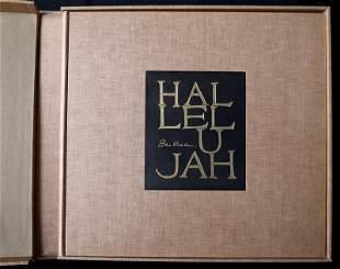 Ben Shahn, Hallelujah, Book of 24 Lithographs, each