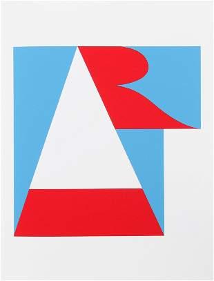 Robert Indiana, Art from the American Dream Portfolio,