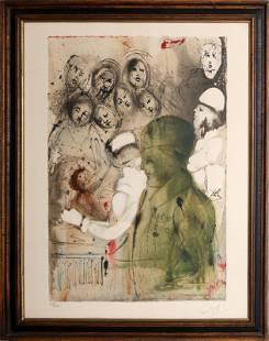 Salvador Dali, Eternal Circumcision from Aliyah Series,