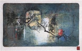 Lebadang (aka Hoi), Winter Tree in Moonlight,