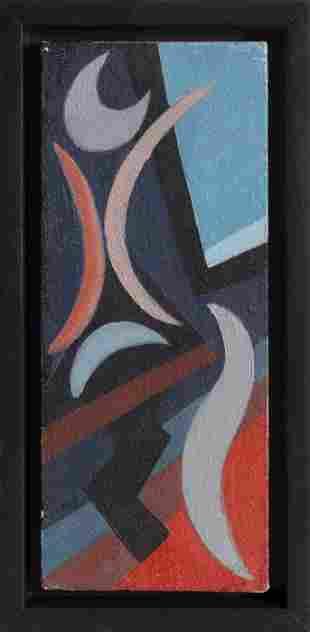 Benjamin Benno, Untitled 13, Oil on Panel