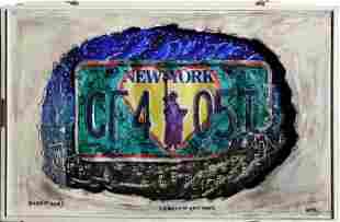 Konstantin Bokov, Liberty New York, Found Art Collage