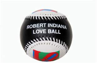 Robert Indiana, Love Ball, Collectible Baseball