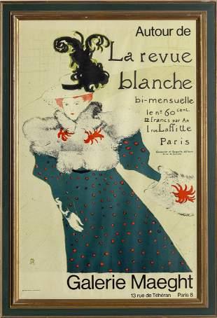 Henri de Toulouse-Lautrec, La Revue Blanche, Poster