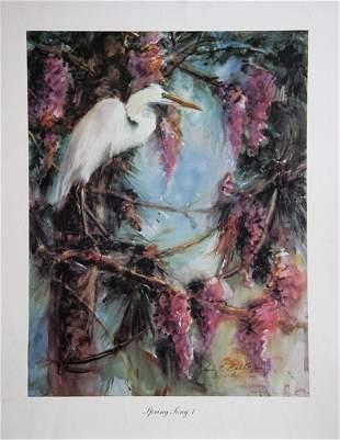 Lois Virginia Babb, Spring Song I, Poster