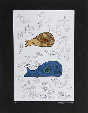 Martin Barooshian, Big Fish Eat Little Fish - I,