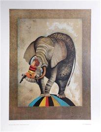 Graciela Rodo Boulanger, An Elephant For Kris, Poster
