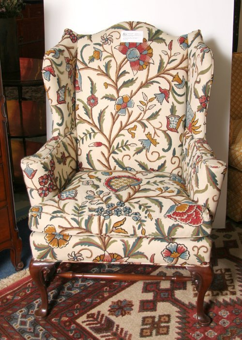 9: Southwood Chippendale Wing Chair