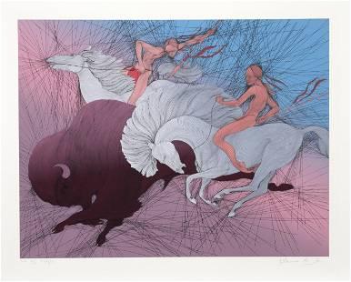 Guillaume Azoulay, Twilight, Screenprint