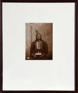 David Frances Barry, Crow King (Sioux Indian Chief),