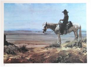 Dan Bodelson, God's Country, Lithograph