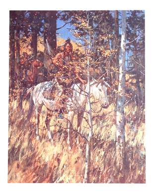 Duane Bryers, Camouflage, Lithograph