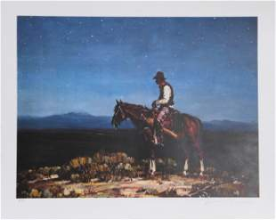 Duane Bryers, Lonesome Train Whistle, Lithograph