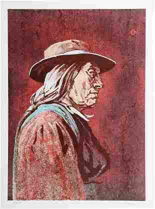 John Sherrill Houser, Portrait of a Native American Man