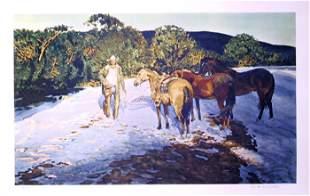 Robert Elmer Lougheed, Duskon the Sante Fe Hills,