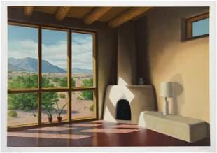 Lorna Patrick, Fireplace, Screenprint