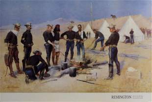 Frederic Remington, The Christmas Beef in a Cavalry
