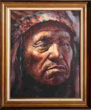 Jorge Braun Andres Tarallo, American Indian Chief