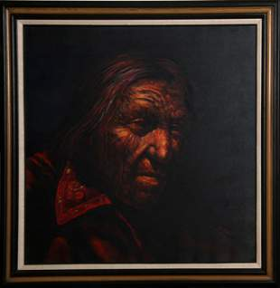 Jorge Braun Andres Tarallo, Native American Portrait