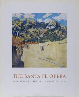 Walter Ufer, Old Santa Fe Road, Poster