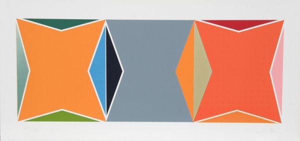 5: Larry Zox, Untitled - 1, Serigraph