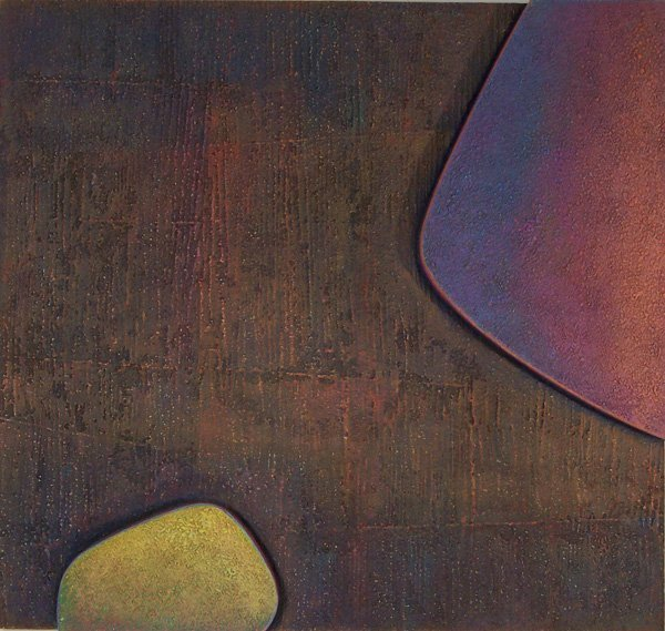 9: Warren Wolf, Untitled (Ohher & Buzwah #3), Painting
