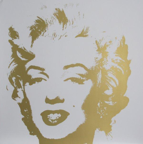 12: Andy Warhol, Marilyn II (7), Serigraph