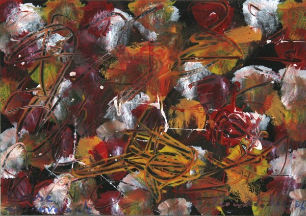 20: Leonardo Voci, Pictore Extravarante, Painting