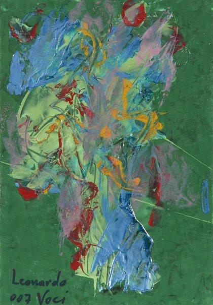 21: Leonardo Voci, Acrylic Painting
