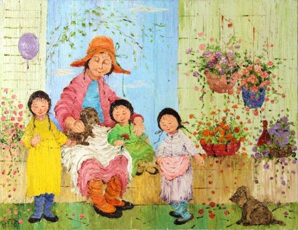 22: Mildred Barrett, Oil Painting