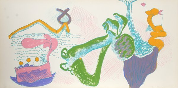 5: John Altoon, About Women, Lithograph