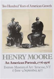 Henry Moore, An American Portrait, Poster