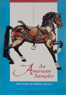 Unknown Artist, Carousel Horse, Shelburne Museum,