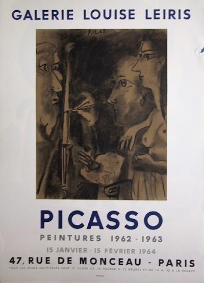 24: Pablo Picasso, Peintures 1962-1963, Poster