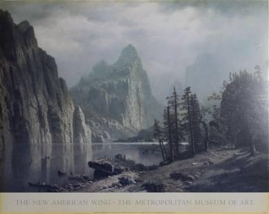 Albert Bierstadt, Merced River, Yosemite Valley, Poster