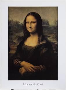 Leonardo da Vinci, Mona Lisa, Poster