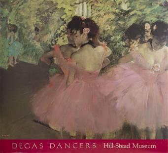 Edgar Degas, Hill-Stead Museum - Dancers in Pink,
