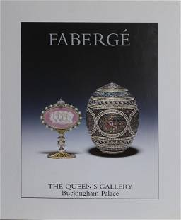 Faberge, The Queens Gallery, Poster on board