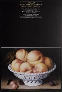 Fede Galizia, Peaches in a Pierced White Faience