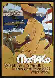 Adolfo Hohenstein, Monaco, Giclee Print