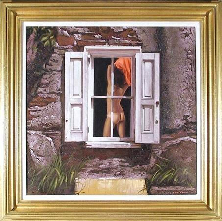 11: Sandu Liberman, Nude, Painting