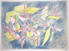 117: Roberto Matta, Octravi, Lithograph