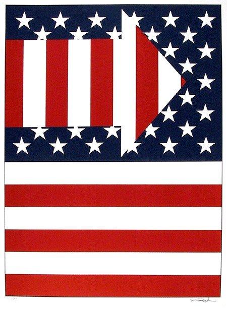 14: Paul von Ringelheim, Flags, Serigraph